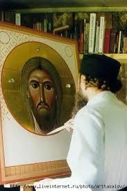 Один из самых авторитетных мастеров современной русской иконописи, приверженец древних византийских традиций иконописи, православный теоретик и мыслитель архимандрит Зинон
