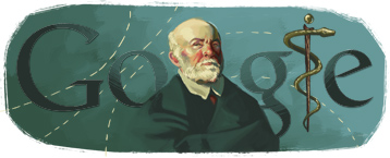 Google Logo: Nikolay Ivanovich Pirogov 200th Birthday - Russian famous surgeon