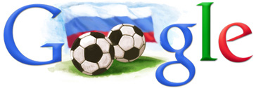 Google Logo: FIFA World Cup 2018 in Russia
