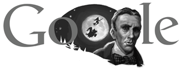 Google Logo: Mikhail Bulgakov 120th birthday - Russian writer and playwright