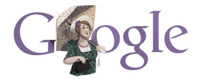 Google Logo: Faina Ranevskaya 115th birthday - One of the most popular Soviet Russian actress