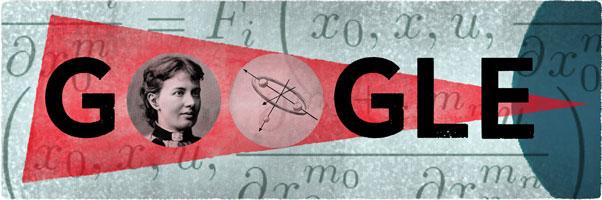 164 года со дня рождения Софьи Ковалевской - Sofia Kovalevskaya's 164th Birthday : Russia