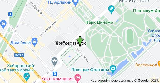 ул. Пушкина, 54, Хабаровск, Хабаровский край, 680000