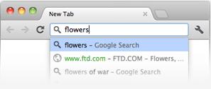 Омнибокс Google Chrome
