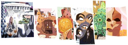 161 год со дня рождения Антонио Гауди
